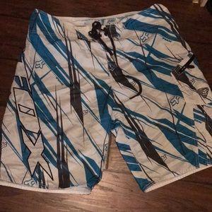 Fox racing board shorts